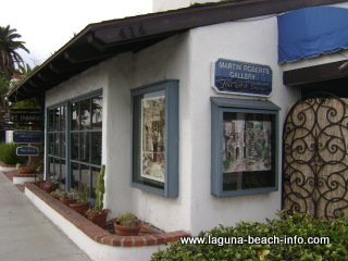 Martin Roberts Painting Gallery, Laguna Beach Art Galleries