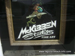 McKibben Studios Island Lifestyle and Surf Gallery, Laguna Beach Art Galleries