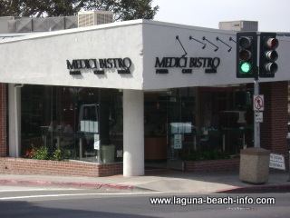Medici's Bistro Casual Dining, Pizza Pasta Salads & Focaccia Sandwiches, Laguna Beach Restaurants