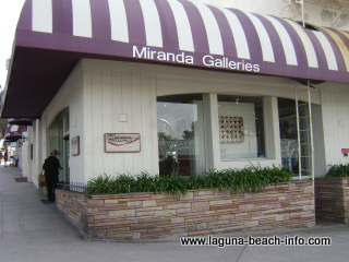 Miranda Galleries, Laguna Beach Art Gallery