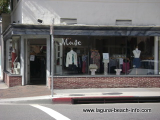 muse store, womens clothing fashion boutique, laguna beach shops