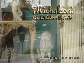 Nicholson's Antiques Home Design, Accessories, and Furnishings Store, Laguna Beach Shops, Laguna Beach, California