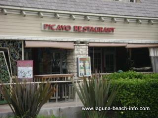 Picayo Restaurant French Mediterranean Dining, Laguna Beach French Restaurants - Laguna Beach Information, California