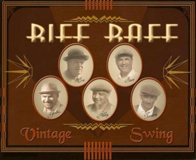 Riff Raff Vintage Jazz Swing Band, Laguna Beach, Orange County Musicians