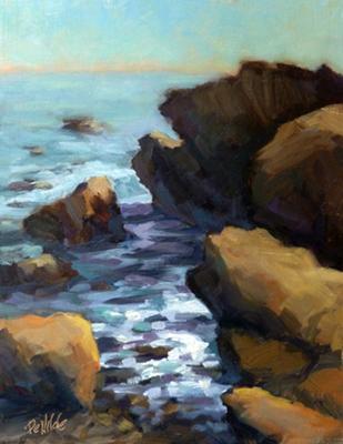 Heisler Beach Pt., Laguna Beach (by Ron DeWilde)