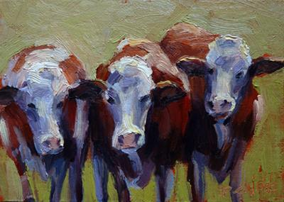 Moo Gossip (by Ron DeWilde)