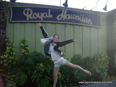 Royal Hawaiian, Laguna Beach Restaurants, Orange County, California