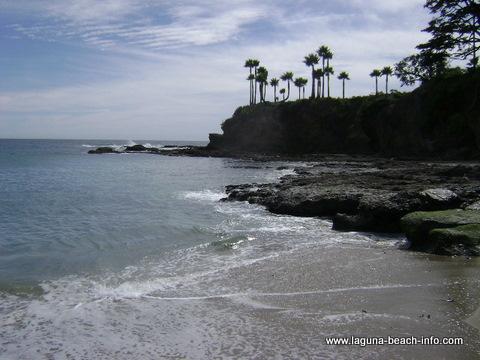 Shaws Cove, Laguna Beach beach - Laguna Beach Information, California Beaches