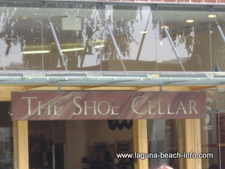 shoe cellar store, laguna beach shops