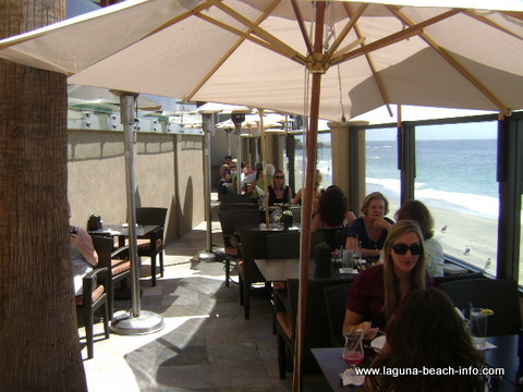 Splashes Restaurant at Surf and Sand Laguna Beach Hotel