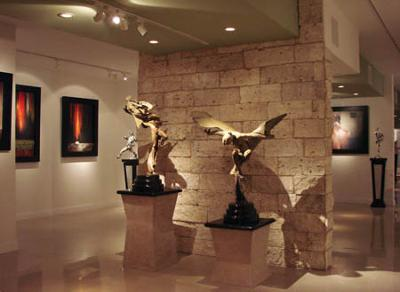 A Selection of Our Bronze Sculptures<br>at STEVEN LUCAS FINE ARTS