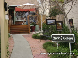 Studio 7 Art Gallery, Laguna Beach Art Galleries