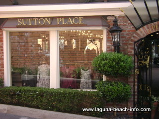 sutton place womens clothing fashion boutique store, laguna beach shops