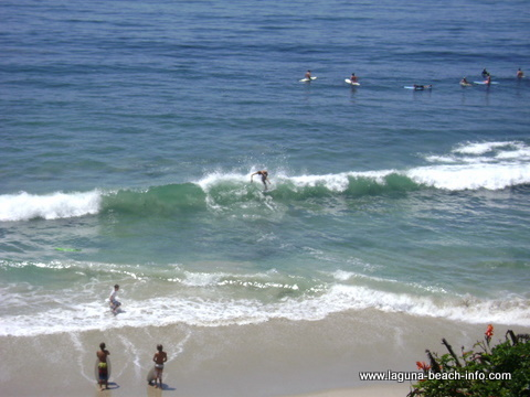 Thalia Street Beach, Laguna Beach beach - Laguna Beach Information, California Beaches