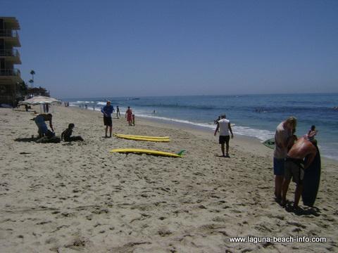 Thalia Street Beach Laguna Beach, California