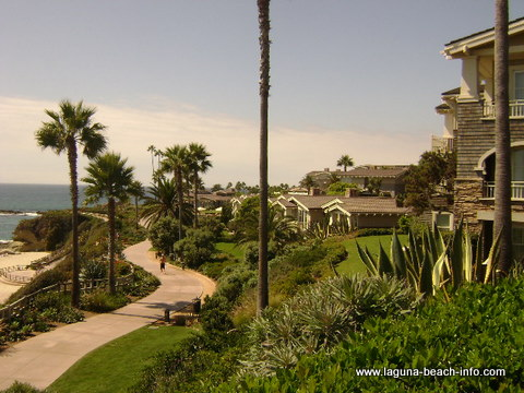 Treasure Island Beach Path at The Montage Laguna Beach Resort