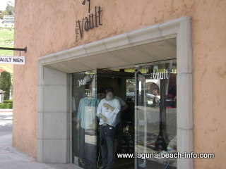 the vault mens clothing fashion boutique store, laguna beach shops