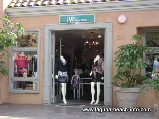the vault womens clothing fashion boutique store, laguna beach shops