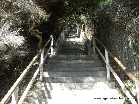 Thousand Steps Beach, Laguna Beach, California