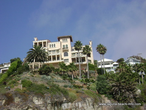 Home at Thousand Steps Beach, Laguna Beach, California