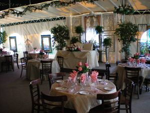 Tivoli Terrace Laguna Beach Weddings, Restaurants, Events and Parties, Laguna Beach, California
