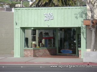 Toes on the Nose, bathings suits wetsuits, Laguna Beach Shops, California