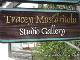 tracey moscaritolo paintings studio gallery, laguna beach art galleries