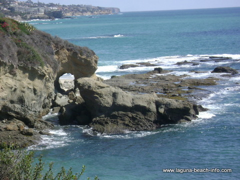 Treasure Island Arch at The Montage Laguna Beach Resort