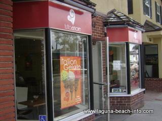 Tutto Amore Gelato Frozen Ice Cream Sweets and Treats, Laguna Beach Shops, California