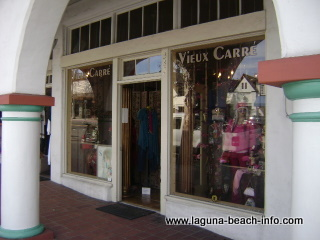 vieux carre womens clothing fashion boutique store, laguna beach shops