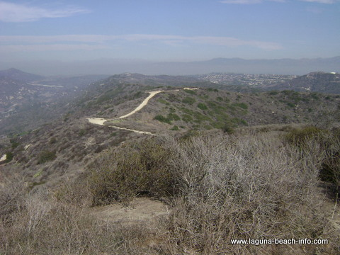 West Ridge Trail Hike Trail in Laguna Beach, California