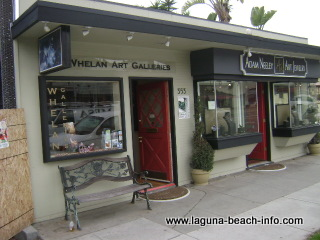 patrick whelan studio art gallery, laguna beach art galleries