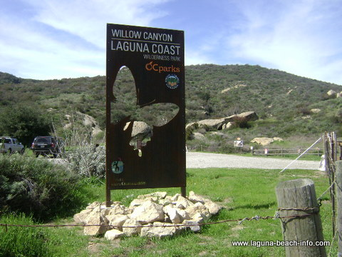 Willow Canyon Trailhead, Laguna Beach Wilderness Park, Laguna Beach Parks