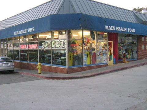 Main Beach Toys in Laguna Beach