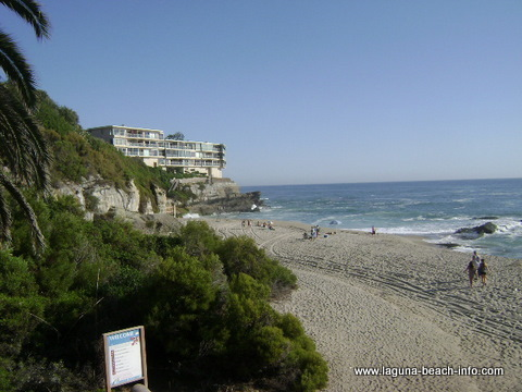 West Street Beach, Laguna Beach, California