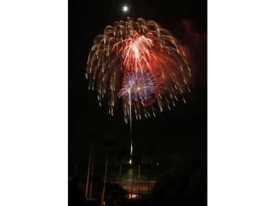 Laguna Beach Fireworks (photo courtesy of OC Register)