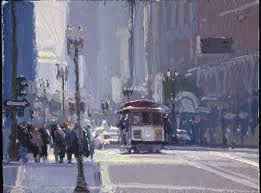 Ken Auster painting (courtesy of kenauster.com )