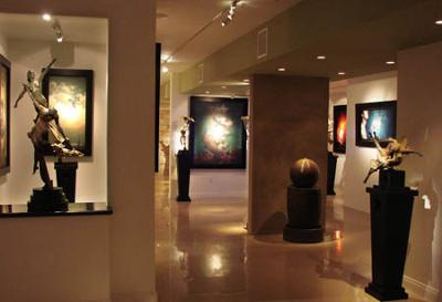 A Small Part of Our Gallery<br>at STEVEN LUCAS FINE ARTS