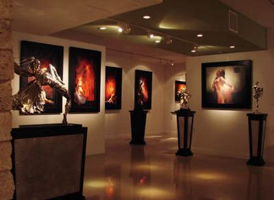 The Art of Arian<br>at STEVEN LUCAS FINE ARTS